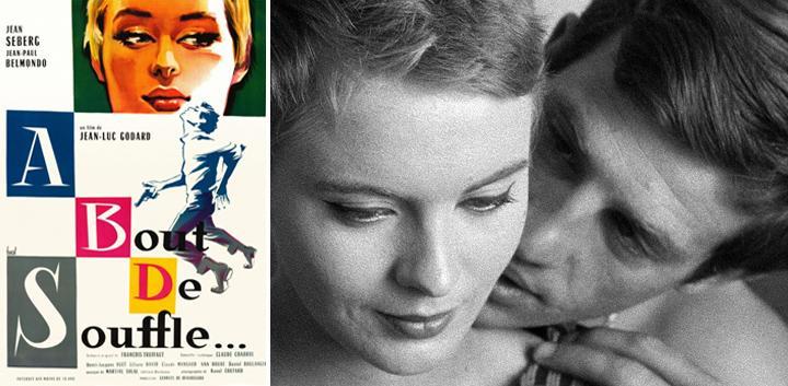 acossado filmes anos 60