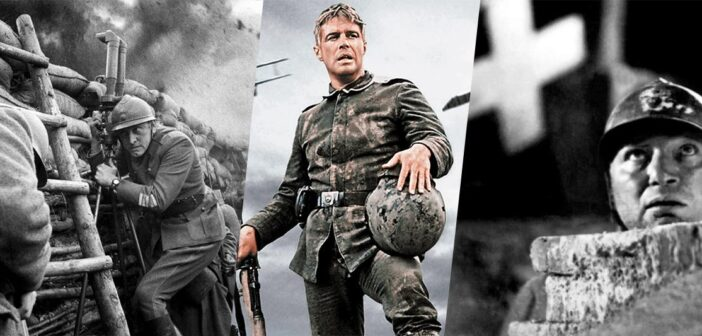 filmes sobre a primeira guerra