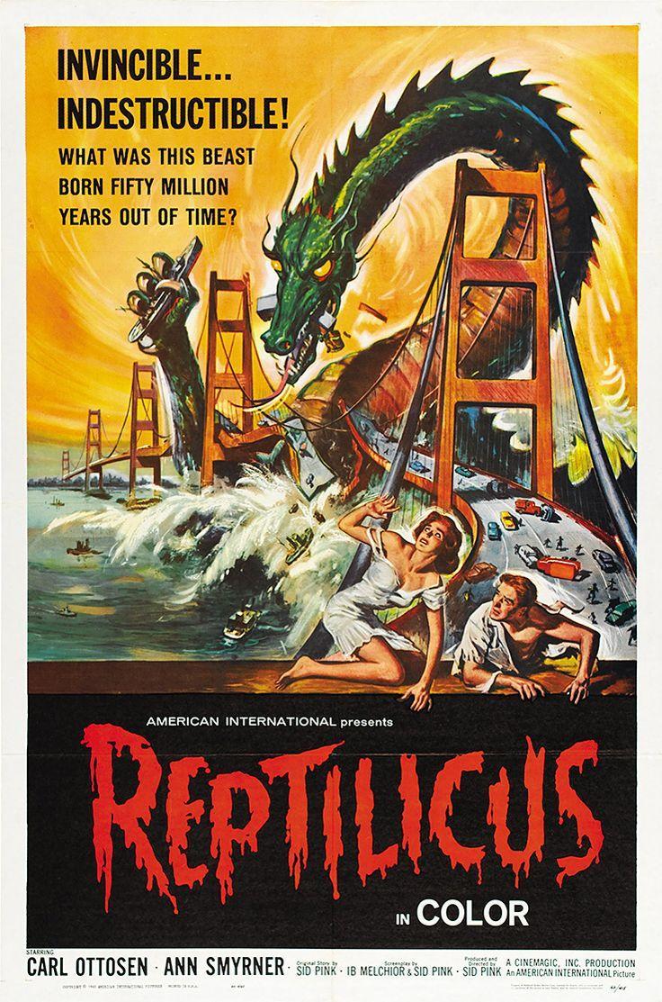 Cartazes clu00e1ssicos de filmes sobre monstros : Canto dos ...